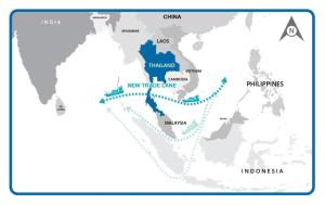 """""""ศักดิ์สยาม"""" เร่งออกแบบท่าเรือ """"แลนด์บริดจ์"""" วางแนวทางรถไฟเชื่อม 2 ฝั่งทะเลต้อง """"สั้นและตัดตรง"""""""