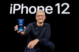 ทิม คุก (Tim Cook) ซีอีโอแอปเปิลกับ iPhone 12 ที่ขายดีเป็นประวัติการณ์ในช่วงมกราคม-มีนาคมปี 2564