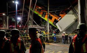ภาพระทึก! โครงสร้างรถไฟฟ้า 'เม็กซิโก' พังถล่ม ยอดดับพุ่ง 20 ศพ-เจ็บหลายสิบ (ชมคลิป)