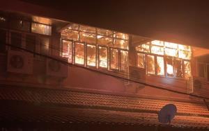 ไฟไหม้อาคาร สนง.สพป.เขต 1 กลางดึก ไร้เจ็บ-ตาย