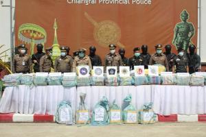 หวิดหลุดถึงอยุธยา! เผยเบื้องหลังจับแก๊งขนยาบ้า 5,000,000 เม็ด คาด่านฯ ถนน ทล.118