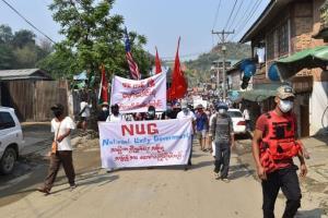 รัฐบาลเงาพม่าประกาศตั้งกองกำลังป้องกันประชาชนปกป้องพลเรือนจากการโจมตีของทหาร