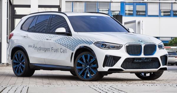 BMW เผยโฉม i Hydrogen NEXT เอสยูวีพลังงานฟิวเซลก่อนเปิดตัวจริงปีหน้า