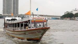เรือด่วนเจ้าพระยางดบริการวันหยุด โควิดทำผู้โดยสารหาย 90%
