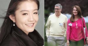 """""""หวังเจ๋อ"""" ?? หรือ Shelly Wang (ซ้าย) กลายเป็นคำค้นหายอดนิยมในโลกออนไลน์ #จีน หลังมีเสียงร่ำลือว่าเธออาจมีส่วนพัวพันกับการหย่าของมหาเศรษฐี อันดับ 4 ของโลก"""