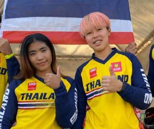 2 นักปั่น BMX สาว เตรียมลุยเก็บแต้มเวิลด์คัพ จ่อได้สิทธิ์ลุยโอลิมปิกเกมส์