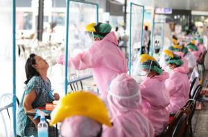 หนักหน่วง! นนทบุรีพบผู้ติดเชื้อโควิด-19 พุ่ง 165 ราย ยังเจอทุกอำเภอ ส่วนใหญ่ติดเชื้อจากครอบครัว-ตลาดสด
