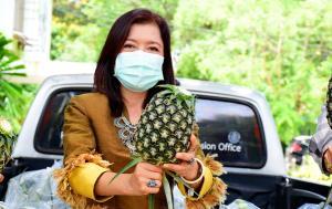 ชาวสวนสับปะรดนครพนมเฮ!! รัฐเพิ่มช่องทางขายผ่านออนไลน์ ผลผลิตถึงมือผู้บริโภคโดยตรง