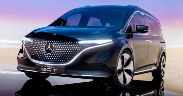 Mercedes-Benz Concept EQT ต้นแบบรถตู้ไฟฟ้าดีไซน์หรูจ่อเปิดตัวปี 2022 นี้