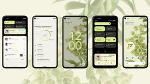 โทนสีเขียวของระบบปฏิบัติการแอนดรอยด์ Android 12 เวอร์ชันใหม่