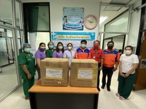 ไปรษณีย์ไทยเดินหน้าส่งตรงอุปกรณ์การแพทย์และสิ่งของจำเป็นถึง รพ.ทั่วไทยฟรี!!