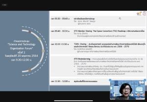 สกสว. เปิดเวที STO Forum ร่วมภาคีอวกาศไทย มุ่งเป้าแผน ววน. 65-70 ผลิกโฉมประเทศสู่อนาคต