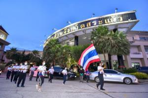 วิ่งธงชาติไทย จากสระแก้วถึงจันทบุรี ก้าวเข้าสู่วันที่ 54 รวมวิ่งแล้ว 4,202 กม.