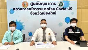 ศูนย์โควิด-19 เชียงใหม่สรุปรายวัน พบตายเพิ่ม 2 ราย รักษาหายแล้วกว่า 90%-ตรวจซ้ำคลัสเตอร์ขนส่งชื่อดังเจอติดอีก 2