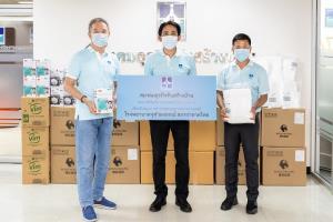 สมาคมธุรกิจรับสร้างบ้านพร้อมสมาชิก ร่วมบริจาคอุปกรณ์ทางการแพทย์ให้ รพ.จุฬาลงกรณ์ สภากาชาดไทย