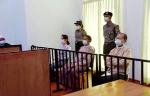 ชมภาพ  'ซูจี' ปรากฏตัวครั้งแรก-ลั่น NLD คงอยู่คู่ประชาชน นักวิเคราะห์ตีความรัฐบาลทหารมั่นใจคุมเกมอยู่