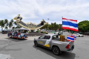 2 วันสุดท้าย!!! วิ่งส่งธงชาติไทย ไปโตเกียวโอลิมปิก ครั้งประวัติศาสตร์ จะครบ 4,606 กม.