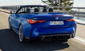 BMW M4 Competition Convertible ใหม่ ตัวแรงเปิดหลังคา 510 แรงม้าเผยโฉมแล้ว