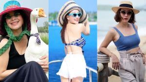 เที่ยวทะเลทั้งที! คนดังพร็อพต้องแน่น ปังทั้งแว่นทั้งหมวก
