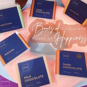 """ช็อกโกแลตสดแบรนด์ไทย """"Square2 Chocolate"""" คิดค้นสูตรกว่า 6 เดือน เน้นขายออนไลน์เป็นหลัก ครอบคลุมทุกแพลตฟอร์มการขาย"""