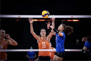 """""""วิลาวัณย์"""" เป็นลิเบอโร่! สาวไทย พ่าย เนเธอร์แลนด์ 0-3 เปิดสนาม 2 เนชั่นส์ลีก"""