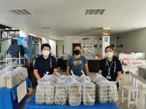 รฟม.ส่งมอบอาหาร 800 กล่องให้บุคลากรโรงพยาบาลรามา