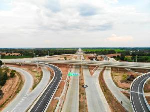 วงแหวนรอบเมืองโคราชคืบหน้ากว่า 80% คาดเสร็จปี 66 ช่วยแก้รถติดเขตเมือง