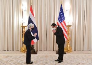 รมช.ต่างประเทศสหรัฐฯ เยี่ยมคารวะนายกฯ ในโอกาสเยือนไทย