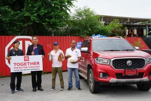 เอ็มจี จับมือภาครัฐและเอกชนร่วมช่วยเหลือคนไทยผ่านวิกฤตโควิด