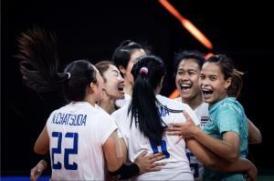 6 เซียนเก็บ 1 เซต! วอลเลย์บอลสาวไทย พ่าย รัสเซีย 1-3 ศึกเนชั่นส์ ลีก 2021