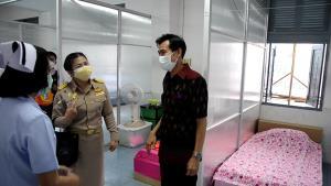 ลพบุรีเปิด รพ.สนามในพื้นที่ทหาร รับมือผู้ป่วยจากคลัสเตอร์ที่แก่งคอย