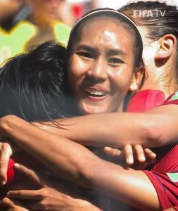 """วัน """"มาดามแป้ง"""" เสียน้ำตา กับฟุตบอลโลกที่ดีที่สุด"""