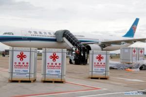 กัมพูชารับมอบวัคซีน 'ซิโนแวค-ซิโนฟาร์ม' ล็อตใหม่จากจีนอีก 1 ล้านโดส
