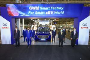 เกรท วอลล์ มอเตอร์ ได้ฤกษ์เปิดโรงงานในไทย วางแผนเป็นฐานผลิตรถพวงมาลัยขวา ฉลองรถคันแรกจากสายการผลิต HAVAL H6 Hybrid SUV เปิดจอง 15 มิ.ย. นี้