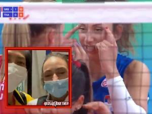 โปรดชมคลิป: อย่างงี้ต้องโดน! สาววอลเลย์บอลเซอร์เบียตัวต้นเหตุเจอโทษแบน 2 นัด ส่วนทีมโดนปรับ $22,000 ทำตาตี่ล้อทีมสาวนักตบไทย