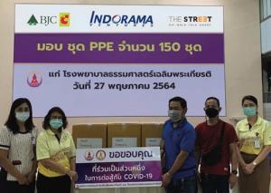 อินโดรามา เวนเจอร์ส มอบ PPE 1,000 ชุดให้แก่บุคลากรทางการแพทย์ ต่อสู้วิกฤติโควิด-19