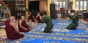 ภาพจากสำนักข่าวอิรวดี (Irrawaddy/Military information team)