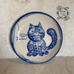 """ถูกใจทาสแมว! """"ปั้นงาน - love cat"""" จับแมววาดลงเซรามิค ผสานเสน่ห์ลายเส้นดั่งเดิม สร้างภาพจำลูกค้า ยอดสั่งไม่ขาดแม้ช่วงโควิด"""