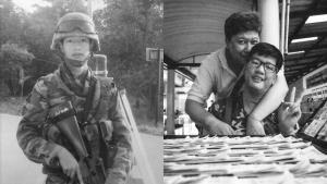"""""""น้องแชมป์"""" อดีตพลทหารเหยื่อระเบิดชายแดนใต้ ขายลอตเตอรี่เลี้ยงชีพเสียชีวิตแล้ว"""