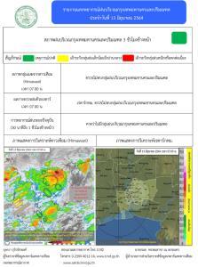 กรมอุตุฯ เตือนหลายจังหวัดทั่วไทยฝนกระหน่ำ กทม.ตกร้อยละ 40