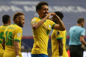 """""""เนย์มาร์"""" ซัด 1 จ่าย 1 """"บราซิล"""" ต้อน """"เวเนซุเอล่า"""" 3-0 เปิดหัวโคปา อเมริกา สวยหรู"""