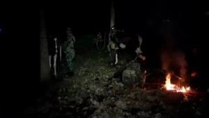 กกล.นเรศวรขี่ม้าลาดตระเวนเข้มพรมแดนริมเมย สกัดทั้งไทย-พม่าลอบข้ามฝั่งกันโควิดลามเพิ่ม