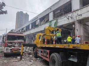 ท่อก๊าซระเบิดที่จีน ตึกถล่ม เสียชีวิต 12 ราย บาดเจ็บ 138 ราย สีจิ้นผิง สั่งช่วยเหลือสุดกำลัง