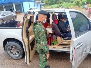 รวบหนุ่มสังขละบุรี ซุก 3 สาวพม่านำพากลับประเทศ เหตุถูกนายจ้างเลิกจ้าง