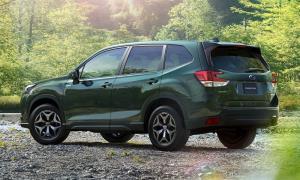 Subaru Forester รุ่นปรับโฉมใหม่เปิดตัวอย่างเป็นทางการครั้งแรกที่ญี่ปุ่น