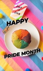 """""""ตามชอบ"""" ร้านขนม 4 พี่น้อง เปิดเมนูใหม่รับ Pride Month คุกกี้สายรุ้ง!"""