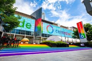 เซ็นทรัลพัฒนา สร้างสีรุ้งใจกลางเมือง ส่งเสริมความหลากหลายทางเพศ