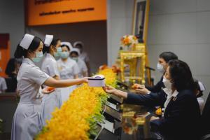นักศึกษาพยาบาลทุนพระราชทาน รุ่น 1 ราชวิทยาลัยจุฬาภรณ์ พร้อมปฏิบัติงานสนองพระปณิธานองค์ประธาน กรมพระศรีสวางควัฒนฯ