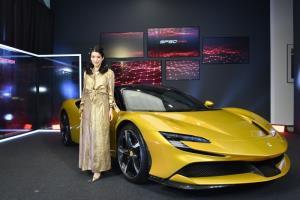Ferrari SF90 Spider ม้าลำพองเปิดประทุนปลั๊กอินไฮบริด เคาะราคา 44,900,000 บาท