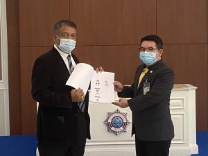 """""""วัชระ"""" ยื่น ปปง. สอบเส้นทางการเงิน บ.โตโยต้า ประเทศไทย เชื่อหวังดิสเครดิตศาลยุติธรรมไทย"""